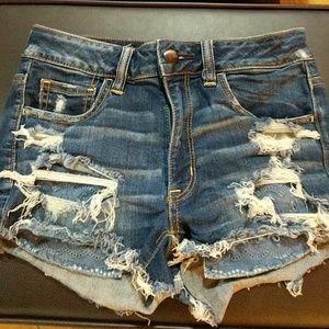 Hi- rise Shorts